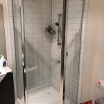 Semi frameless shower screen Melbourne