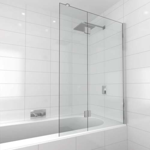 Bath Screen installed by shower screen hotline Melbourne